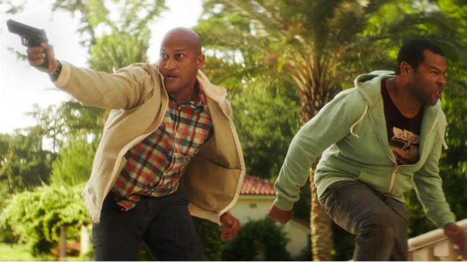 Keanu Keegan Michael-Key Jordan Peele With Guns