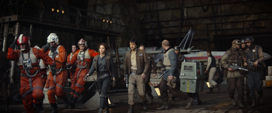 Rogue One A Star Wars Story Trailer Rebels on Yavin IV