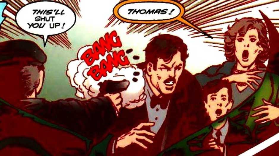 Wayne Murder Batman V Superman Dawn of Justice