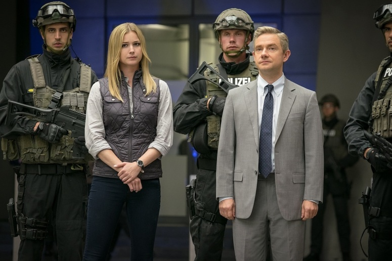 Captain America Civil War Agent 13 Sharon Carter Emily VanCamp and Martin Freeman
