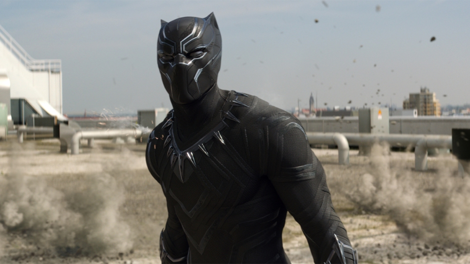 Captain America Civil War Black Panther Chadwick Boseman