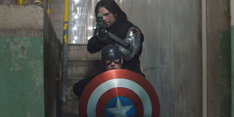 Captain America Civil War Review Bucky The Winter Soldier and Steve Rogers