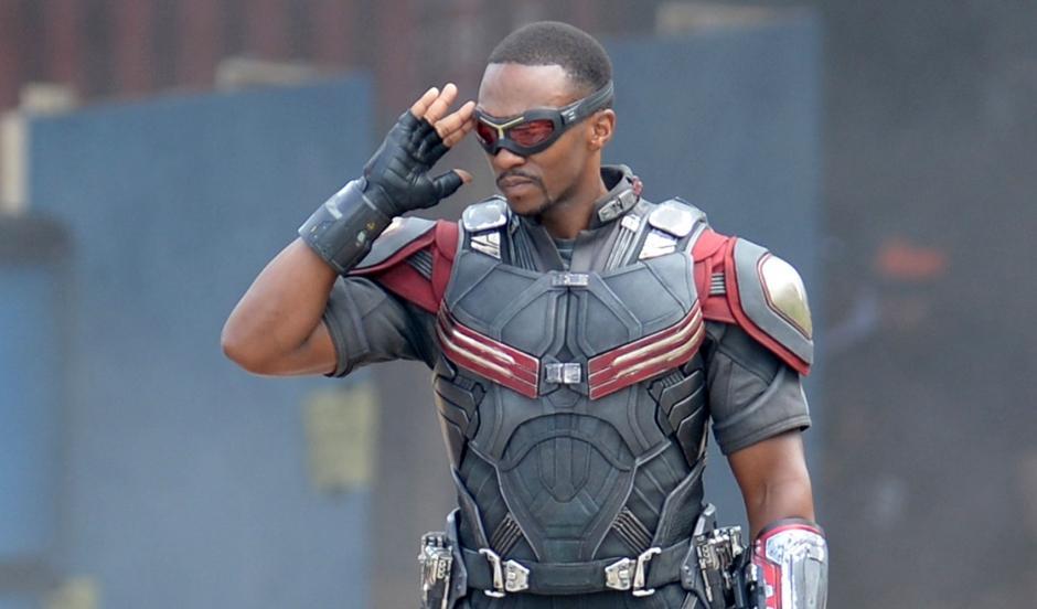 Captain America Civil War Sam Wilson Falcon Anthony Mackie