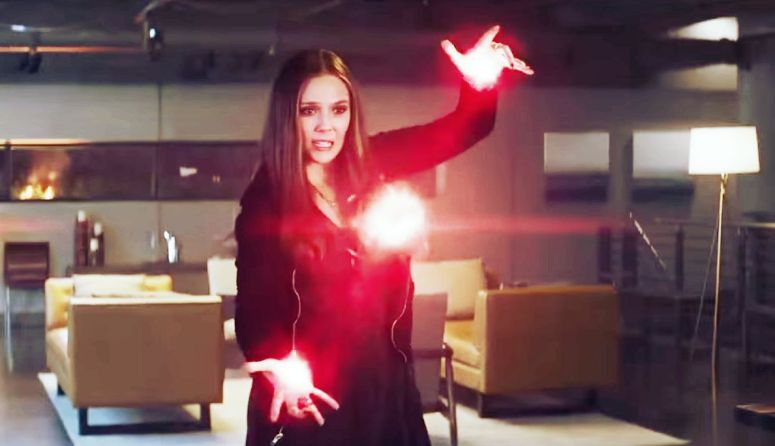 Captain America Civil War Scarlet Witch Wanda Maximoff Elizabeth Olsen