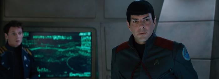 Star Trek Beyond Trailer 2 Akward Spock and Chekov