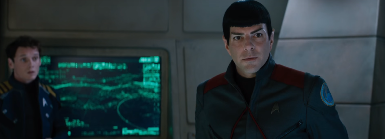 Star Trek Beyond Trailer 2 Akward Spock and Chekov