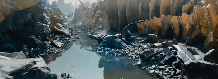 Star Trek Beyond Trailer 2 Alien Planet