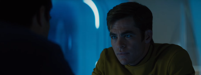 Star Trek Beyond Trailer 2 Captain Kirk Chris Pine and Bones Karl Urban Drink 2