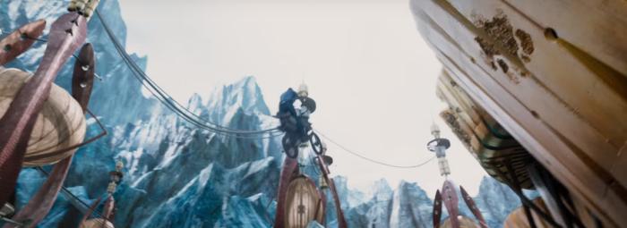 Star Trek Beyond Trailer 2 Captain Kirk Chris Pine Jumps Motorcylce