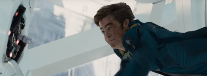 Star Trek Beyond Trailer 2 Captain Kirk Chris Pine Misses Switch