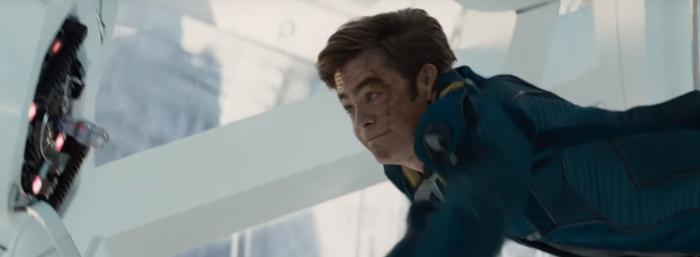 Star Trek Beyond Trailer 2 Captain Kirk Chris Pine Misses Switch