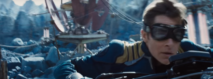 Star Trek Beyond Trailer 2 Captain Kirk Chris Pine On Motorcycle