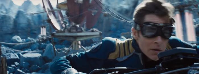 Star Trek Beyond Trailer 2 Captain Kirk Chris Pine On Motorcycle