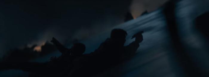 Star Trek Beyond Trailer 2 Captain Kirk Chris Pine Slides down Enterprise 2