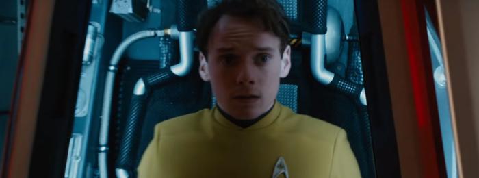 Star Trek Beyond Trailer 2 Chekov Anton Yelchin in Escape Pod