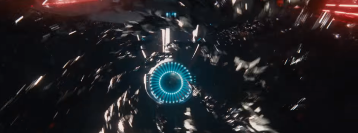 Star Trek Beyond Trailer 2 Enemy Ships Swarm Enterprise Engine