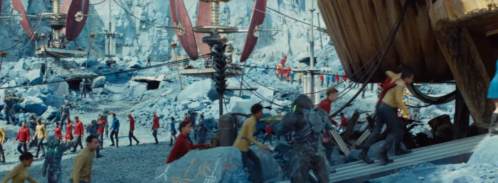 Star Trek Beyond Trailer 2 Enterprise Crew on Alien Planet