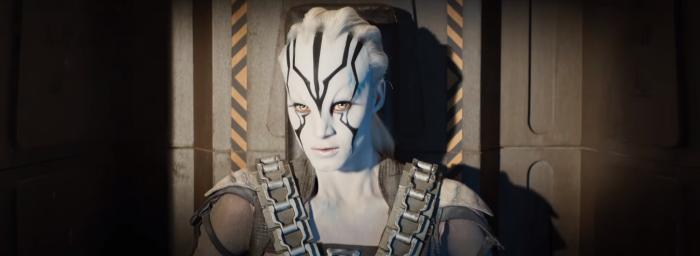 Star Trek Beyond Trailer 2 Female Alien Hero