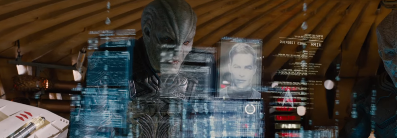 Star Trek Beyond Trailer 2 Idris Elba as Krall Reads Kirks File