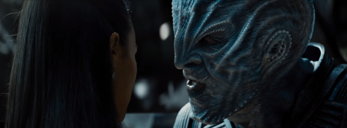 Star Trek Beyond Trailer 2 Krall Idris Elba Talks to Uhura