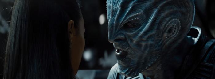 Star Trek Beyond Trailer 2 Krall Idris Elba Talks to Uhura