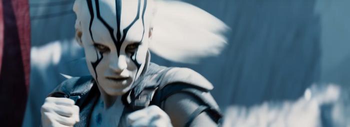 Star Trek Beyond Trailer 2 New Female Alien Prepared to Fight