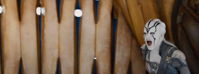 Star Trek Beyond Trailer 2 New Female Alien Shouting