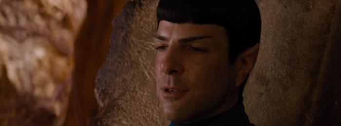 Star Trek Beyond Trailer 2 Spock Zachary Quinto Talks to Bones