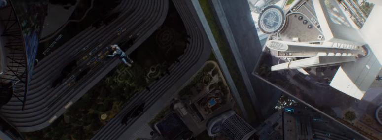 Star Trek Beyond Trailer 2 Starfleet Space Station Kirk Falls Chris Pine