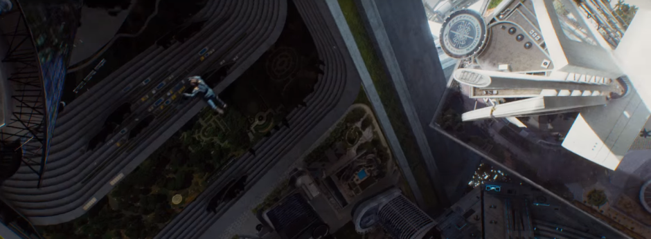 Star Trek Beyond Trailer 2 Starfleet Space Station Kirk Falls Chris Pine