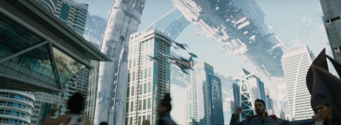 Star Trek Beyond Trailer 2 Starfleet Space Station Kirk Under Attack