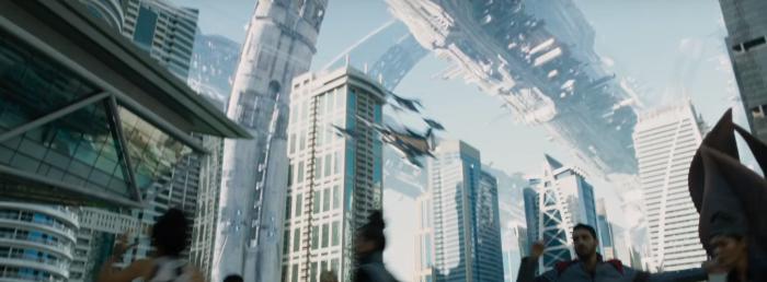 Star Trek Beyond Trailer 2 Starfleet Space Station Kirk Under Attack