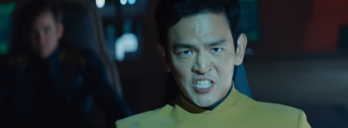 Star Trek Beyond Trailer 2 Sulu Hold On