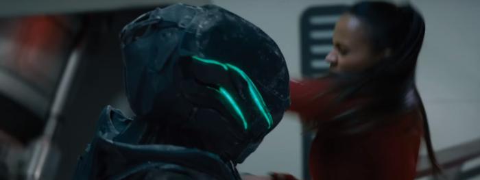 Star Trek Beyond Trailer 2 Uhura Zoe Saldana Fights Alien