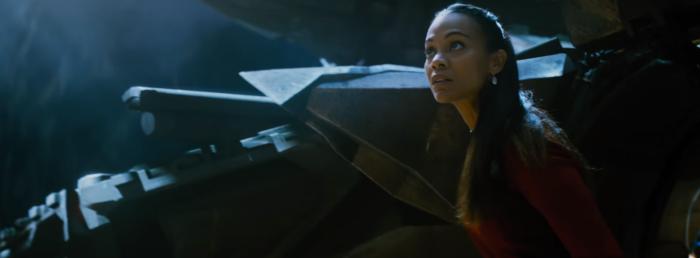 Star Trek Beyond Trailer 2 Uhura Zoe Saldana