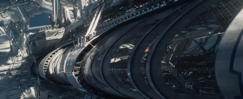 Star Trek Beyond Trailer 2 USS Enterprise Launch Tube Starfleet