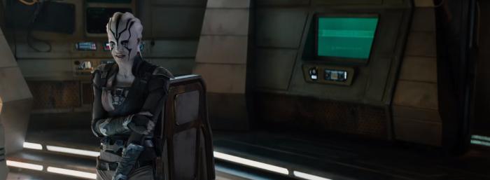 Star Trek Beyond Trailer New Female Alien Hero