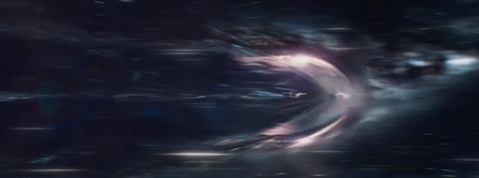 Star Trek Beyond Trailer USS Enterprise Warp Flash