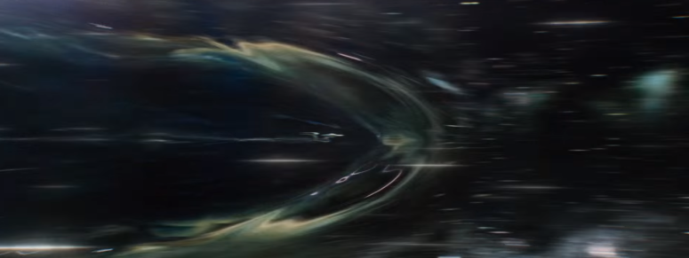 Star Trek Beyond Trailer USS Enterprise Warp