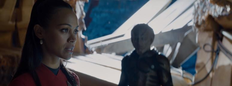 Star Trek Beyond Uhura Zoe Saldana and Krall