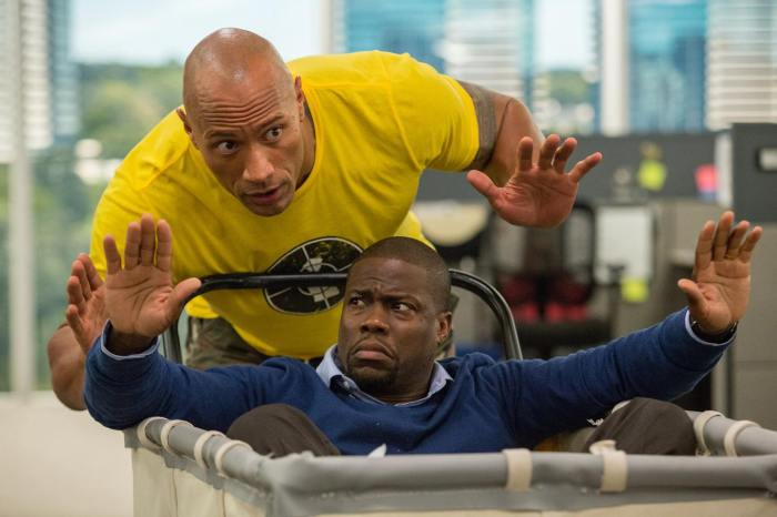 Central Intelligence Review Bob Stone Calvin Kevin Hart Dwayne the Rock Johnson 2