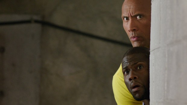Central Intelligence Review Bob Stone Calvin Kevin Hart Dwayne the Rock Johnson
