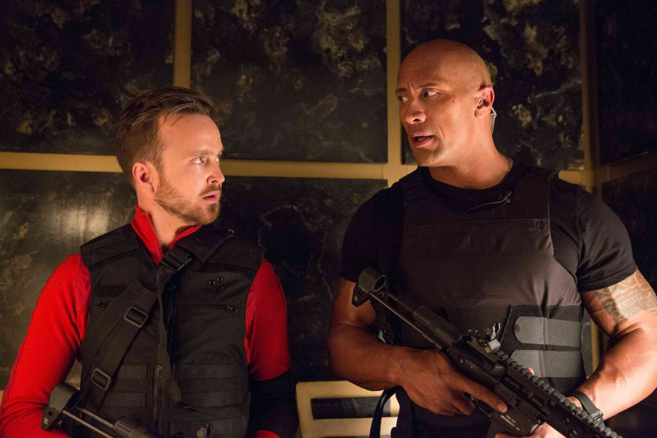 Central Intelligence Review Bob Stone Dwayne the Rock Johnson Aaron Paul