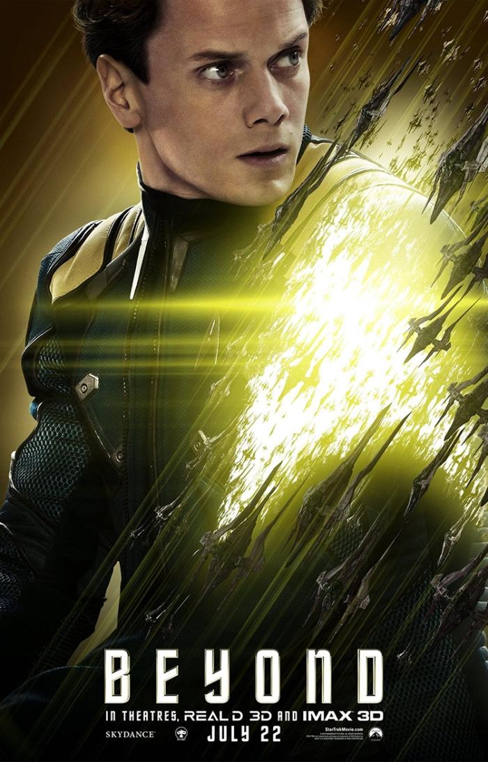 Star Trek Beyond Poster Anton Yelchin Chekov