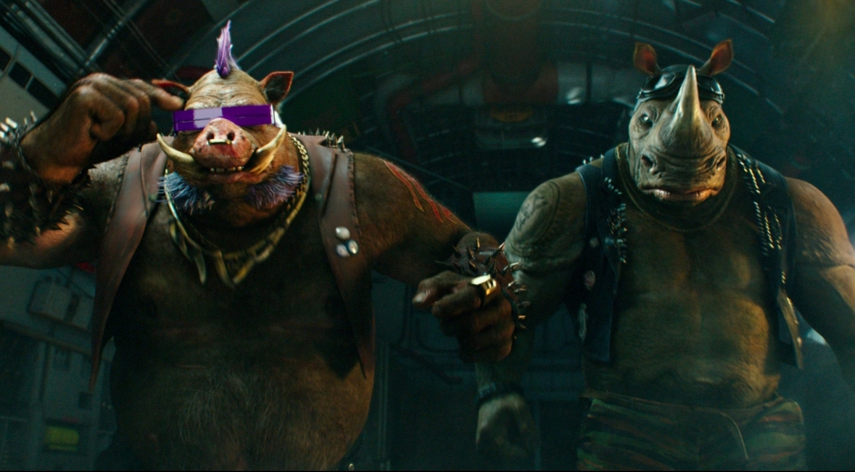 Teenage Mutant Ninja Turtles Out of the Shadows Review Bebop and Rocksteady