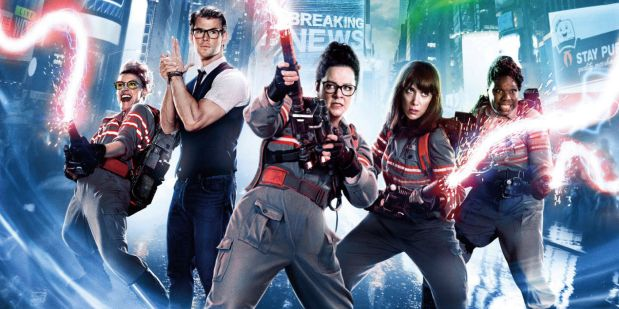 Ghostbusters 2016 Review Melissa McCarthy Kate McKinnon Kristen Wiig Leslie Jones Chris Hemsworth