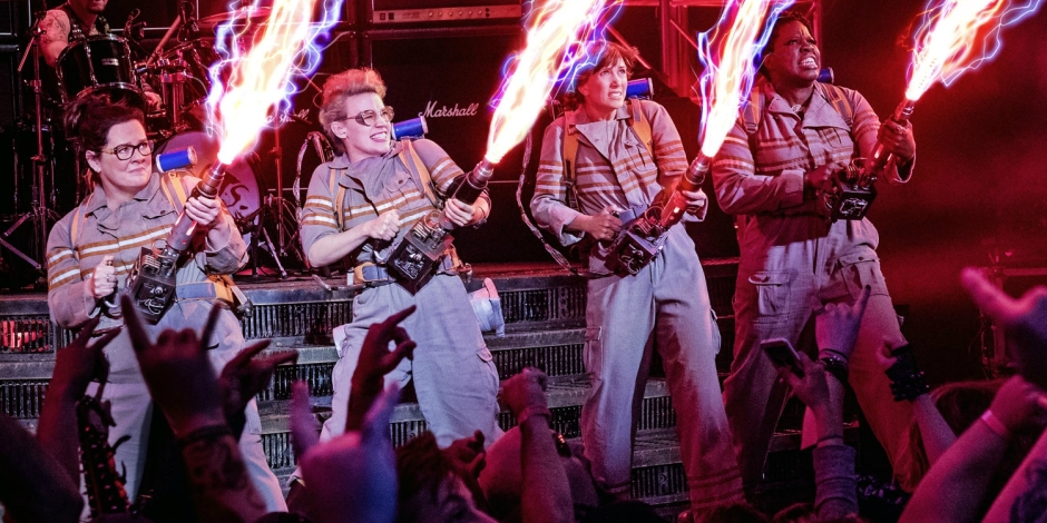 Ghostbusters 2016 Review Melissa McCarthy Kate McKinnon Kristen Wiig Leslie Jones
