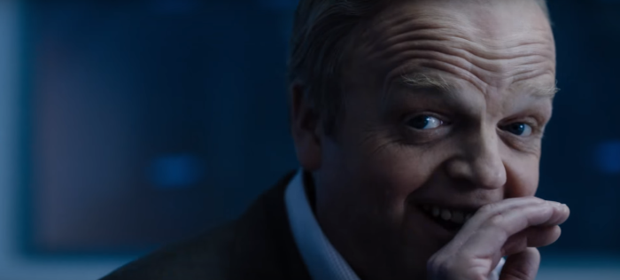Sherlock Season 4 Trailer SDCC Toby Jones Laughing