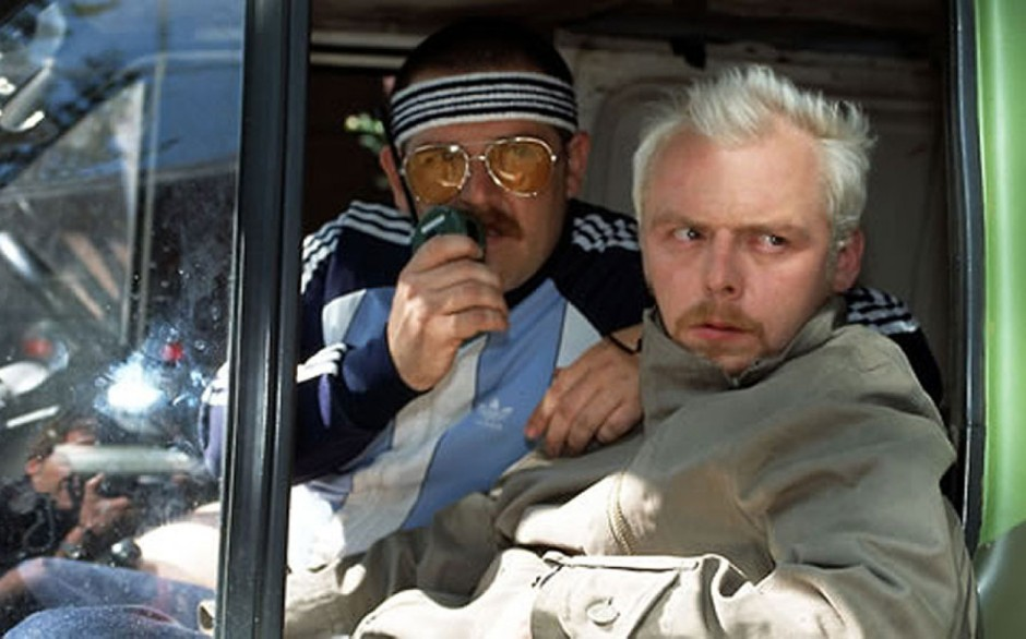 Spaced Simon Pegg and Nick Frost