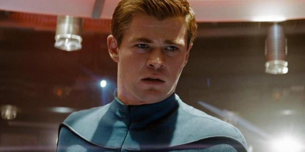 Star Trek 2009 Chris Hemsworth as George Kirk 2